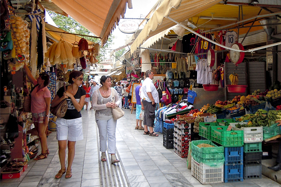 Shopping time – Heraklion open market